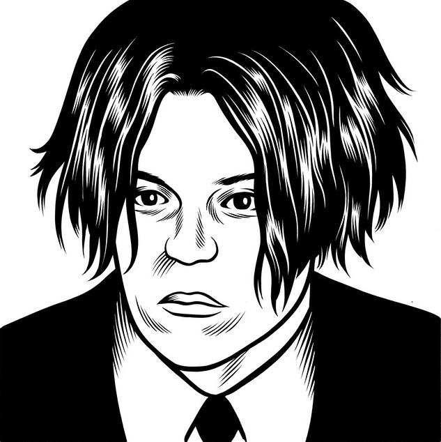 portrait noir blanc dessin 35 Des portraits illustrés en noir et blanc  design bonus