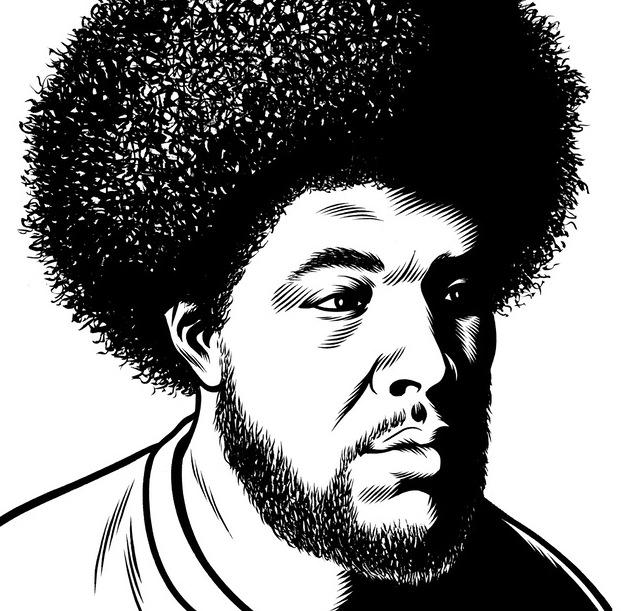 portrait noir blanc dessin 42 Des portraits illustrés en noir et blanc  design bonus