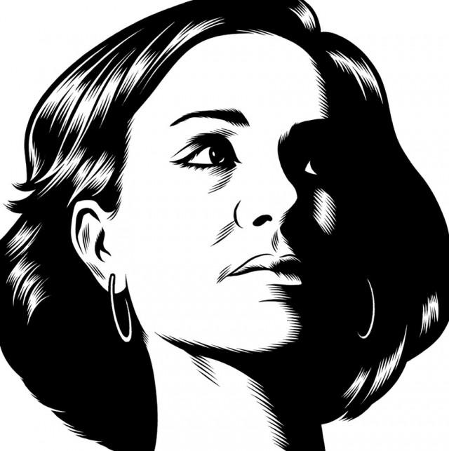 portrait noir blanc dessin 45 Des portraits illustrés en noir et blanc  design bonus