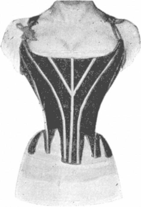radio corset 07 478x700 Les corsets de 1908 au rayons X  technologie histoire bonus