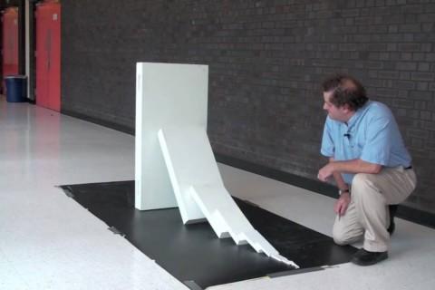 Réaction en chaîne de dominos