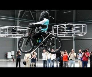 Un vélo volant électrique