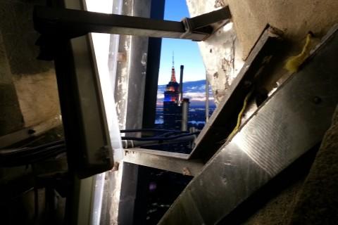 Visite du sommet du Chrysler Building