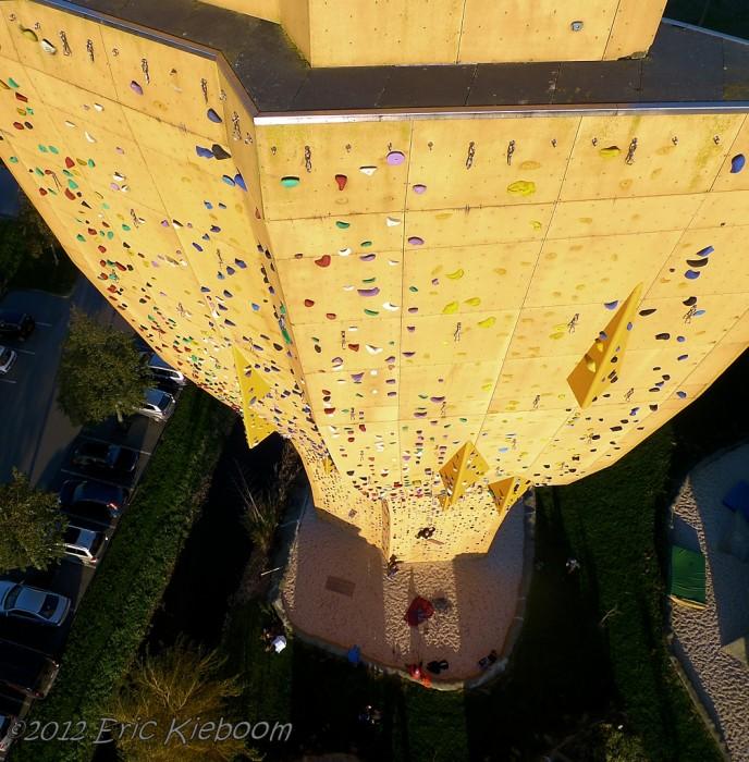 excalibur mur escalade 06 688x700 Excalibur, le mur descalade le plus haut du monde  lieux information bonus