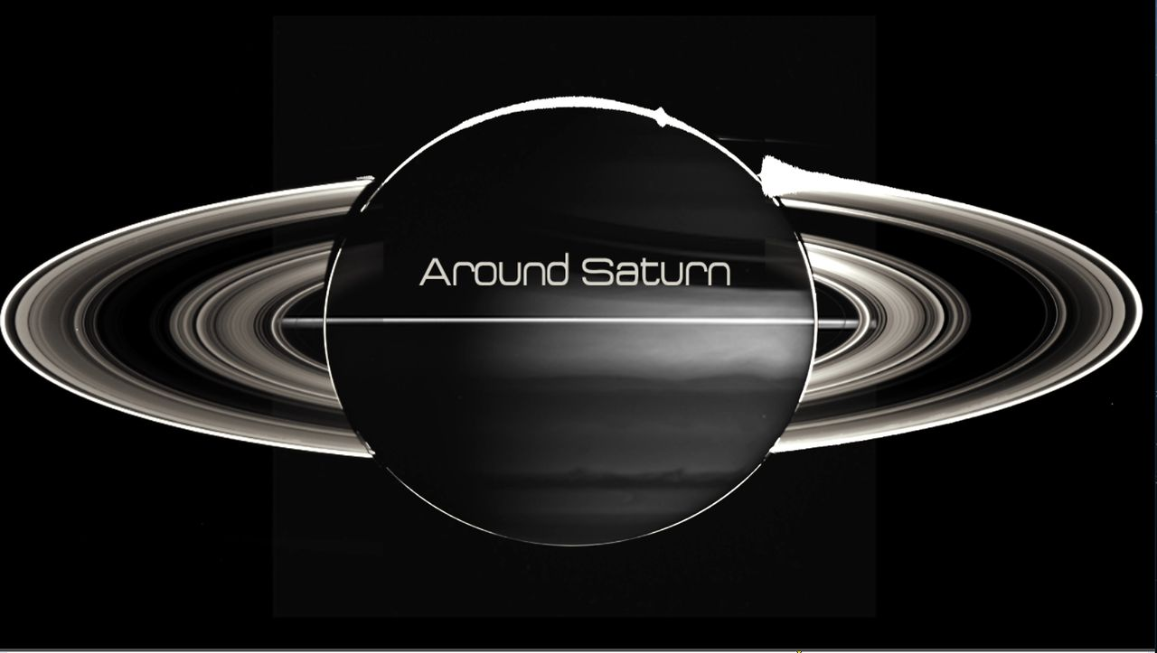 les 200 000 photographies de saturne en 8 ans par cassini. Black Bedroom Furniture Sets. Home Design Ideas