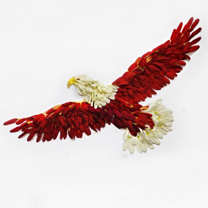 oiseau petale 09 700x700 Des oiseaux en pétales  divers bonus