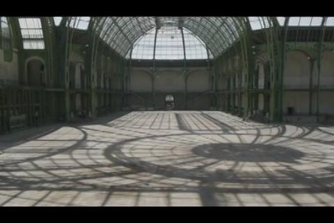 Un drone au Grand Palais