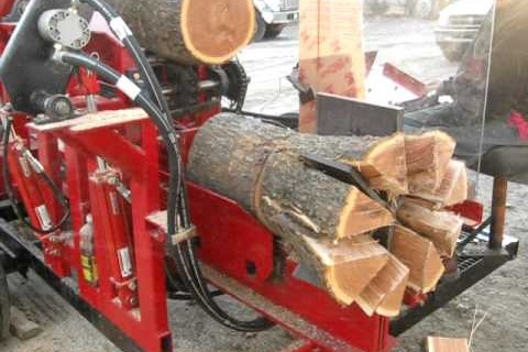 Une machine à faire du petit bois