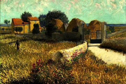 Animations des peintures de Van Gogh