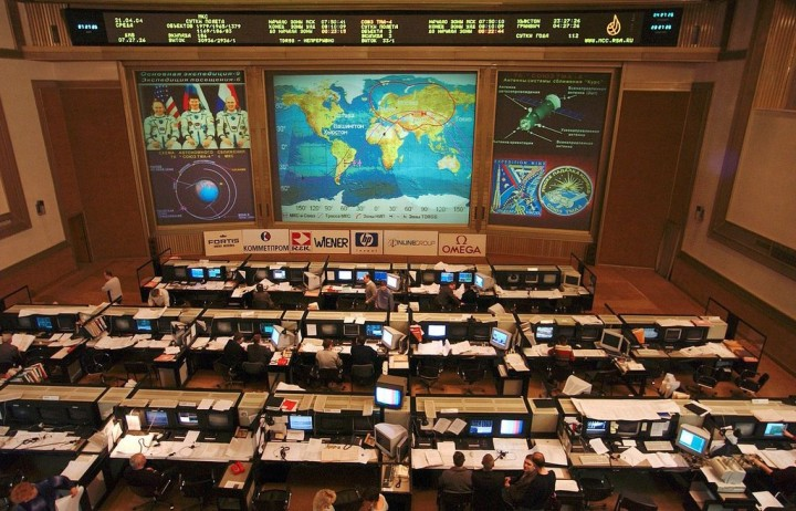 RKA (ISS) Mission Control, Moscow, Russia.