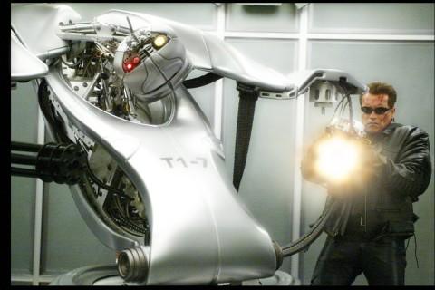 La fabrication des robots de Terminator 3