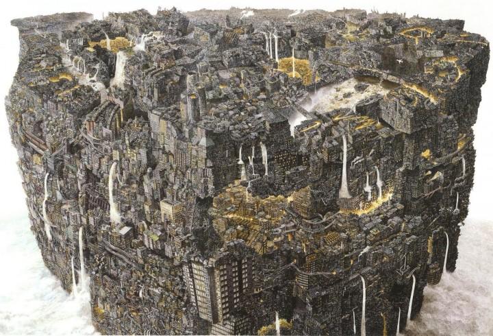 ikeda 01 720x490 Les dessins de Manabu Ikeda  peinture 2 design bonus art