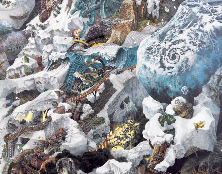 ikeda 02 720x563 Les dessins de Manabu Ikeda  peinture 2 design bonus art
