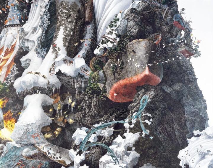 ikeda 05 720x570 Les dessins de Manabu Ikeda  peinture 2 design bonus art