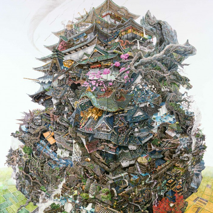 ikeda 06 700x700 Les dessins de Manabu Ikeda  peinture 2 design bonus art