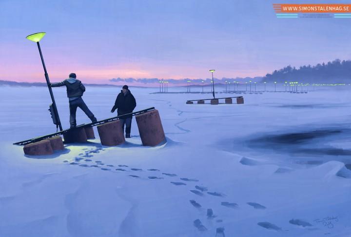 peinture futur suede 06 720x486 Peintures du futur suédois  peinture 2 bonus art