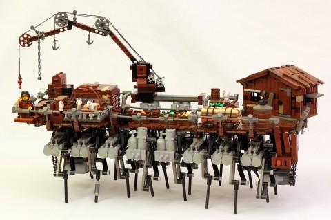 Un Lego Mille-Pattes Strandbeest