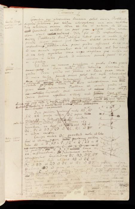 carnet note isaac newton 11 452x700 Les carnets de notes dIsaac Newton  technologie histoire bonus