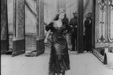 Une danse sexy en 1910