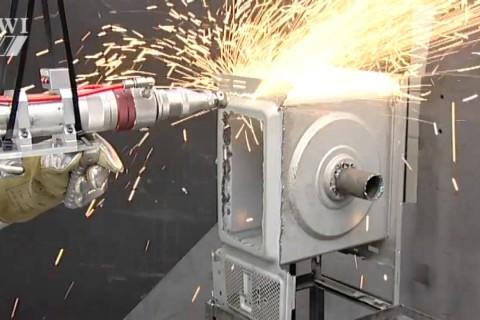 Un fusil laser