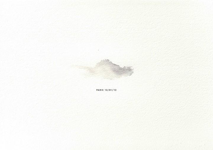 peinture goute pluie nuage 05 720x509 Des nuages en gouttes de pluies  peinture 2 bonus art