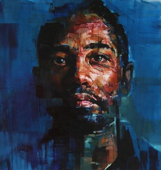 portrait salgado 03 664x700 Les portraits dAndre Salgado  peinture 2 bonus art