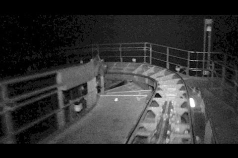 Space Mountain en vision nocturne