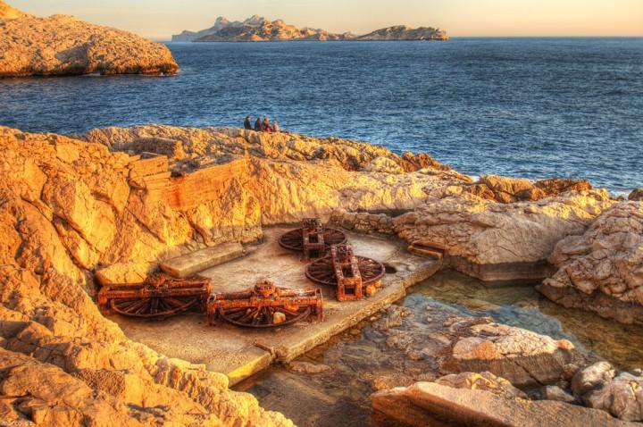 telescaphe2 720x478 Un téléphérique sous marin près de Marseille  histoire divers bonus