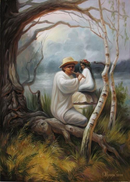visage paysage 03 500x700 Des paysages anthropomorphiques  peinture 2 bonus art