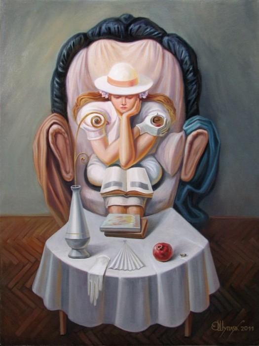 visage paysage 04 525x700 Des paysages anthropomorphiques  peinture 2 bonus art