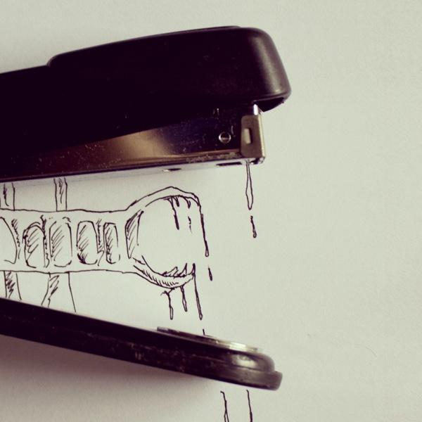 dessin objet 10 Des dessins autour dobjets  design bonus art