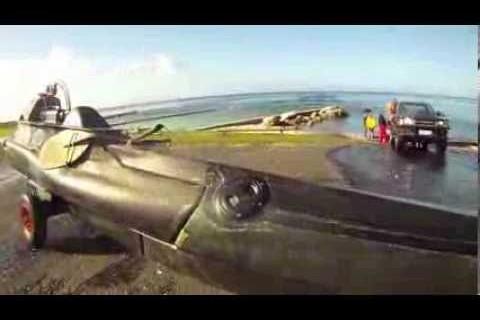 Un kayak sous-marin