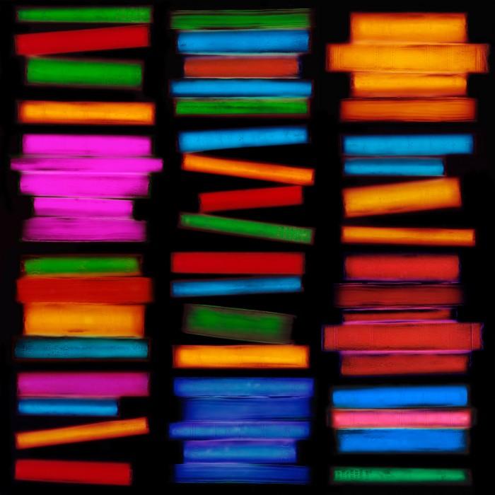 livre resine 03 700x700 Les livres multicolores de Penelope Davis  photographie bonus art