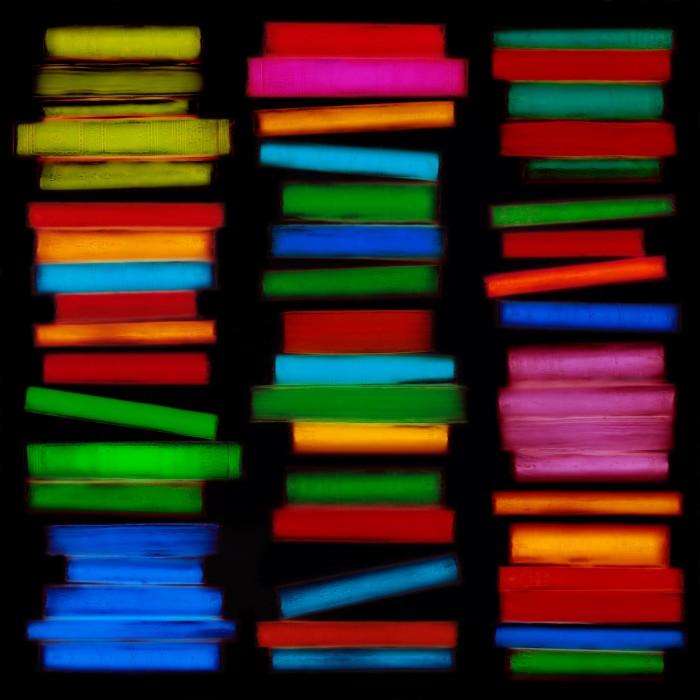 livre resine 04 700x700 Les livres multicolores de Penelope Davis  photographie bonus art