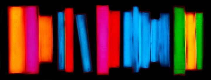livre resine 09 720x274 Les livres multicolores de Penelope Davis  photographie bonus art