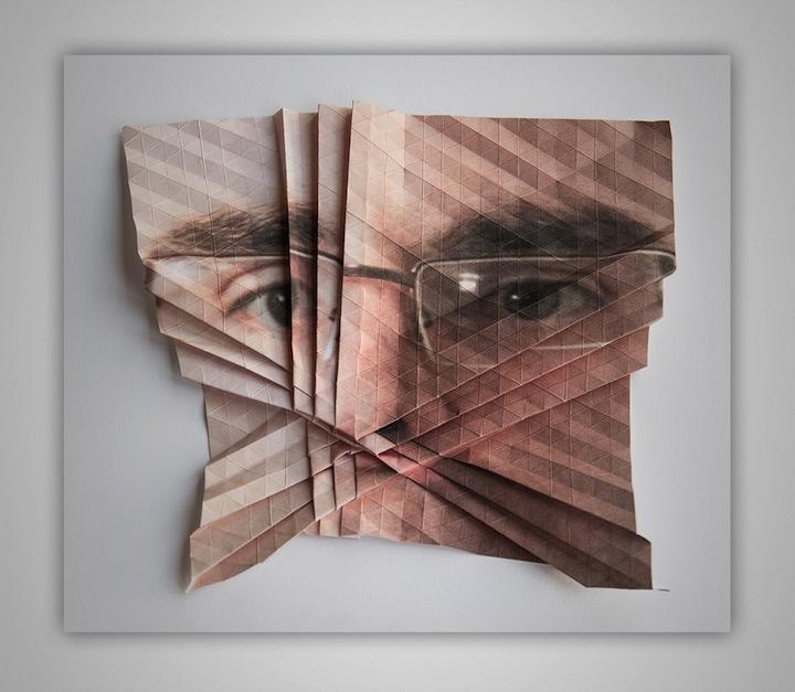 pliage portrait 02 Pliages de portraits  bonus art