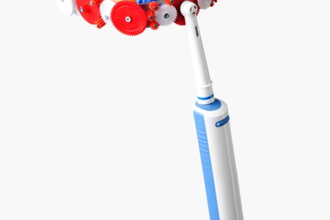 AUTOMATIC UPPER AND LOWER FULL MOUTH TOOTH BRUSH