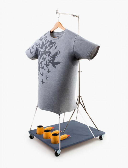 PORTABLE SWEATY ARMPIT T-SHIRT DRYER