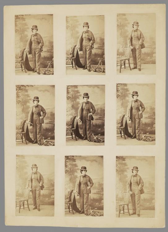 Nadar Portrait Ernestine Nadar 543x750 Les portraits de Nadar  photographie histoire