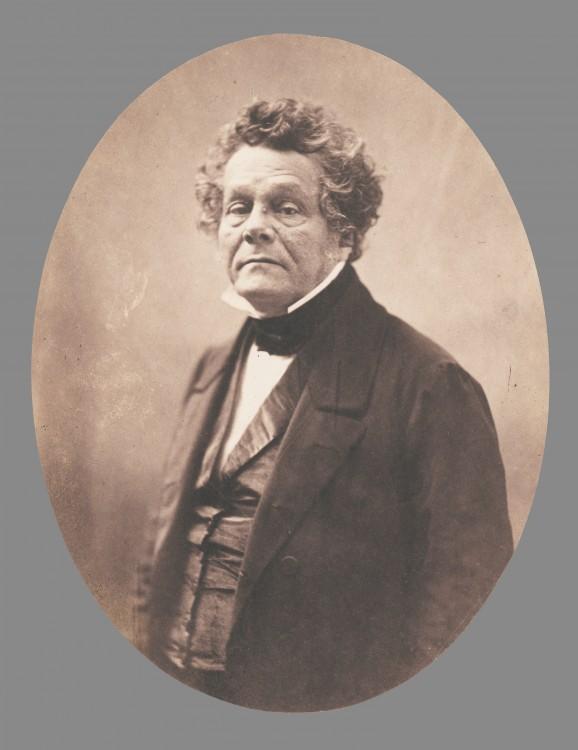 Nadar Portrait Isaac Adolphe Cremieux 578x750 Les portraits de Nadar  photographie histoire