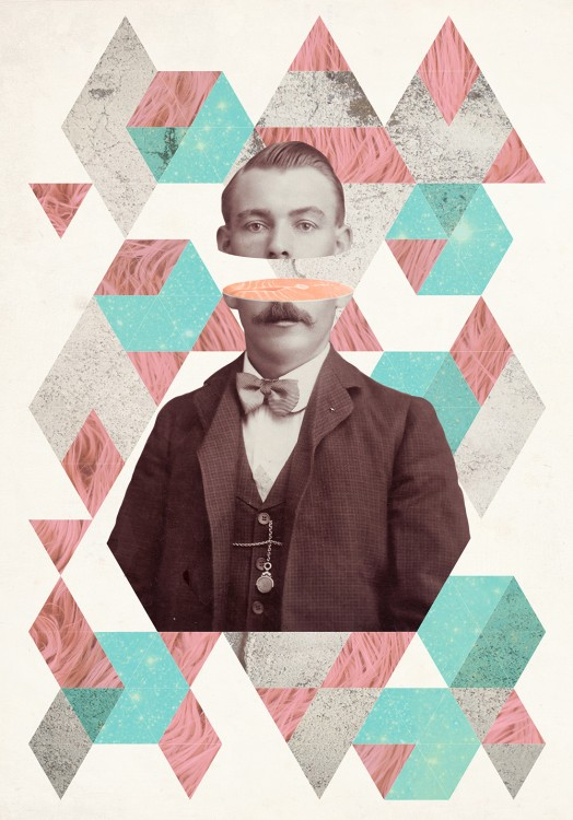 collage geiser 01 524x750 Les collages de Julia Geiser  design