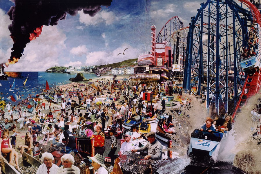 collage photo montage 06 900x601 Des photomontages en multiples collages  design art