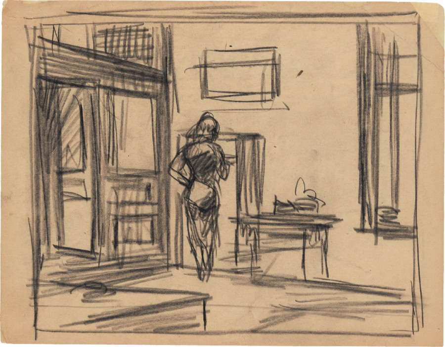 croquis-edward-hopper-10