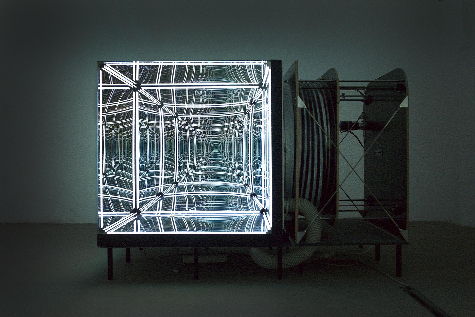La respiration d 39 un cube lumineux for Un miroir sans tain