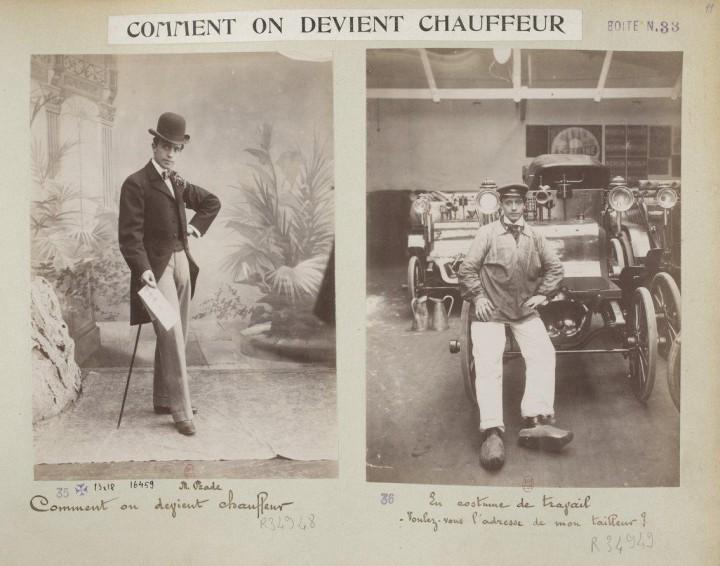 devenir chauffeur voiture 1898 01 720x566 Comment on devient chauffeur automobile en 1898  photographie histoire bonus