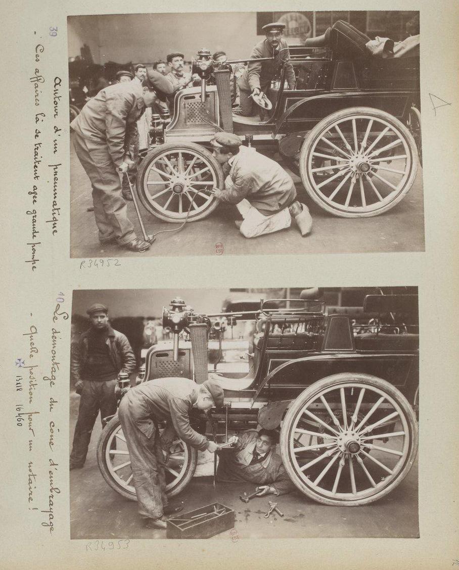 comment on devient chauffeur automobile en 1898. Black Bedroom Furniture Sets. Home Design Ideas