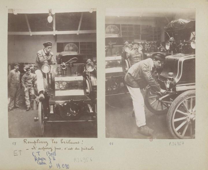 devenir chauffeur voiture 1898 05 720x588 Comment on devient chauffeur automobile en 1898  photographie histoire bonus