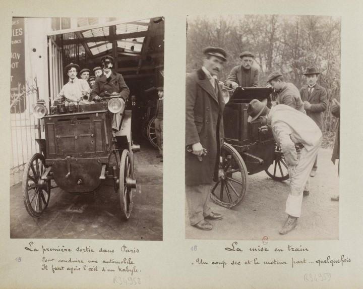 devenir chauffeur voiture 1898 06 720x573 Comment on devient chauffeur automobile en 1898  photographie histoire bonus
