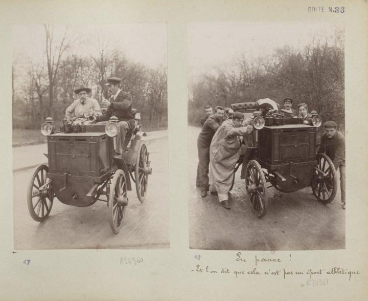 devenir chauffeur voiture 1898 07 720x588 Comment on devient chauffeur automobile en 1898  photographie histoire bonus