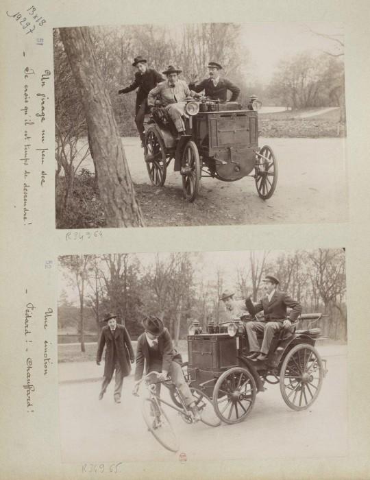 devenir chauffeur voiture 1898 09 540x700 Comment on devient chauffeur automobile en 1898  photographie histoire bonus